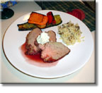 Tri-Tip with Port Wine Reduction